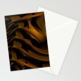 Carved In Wood Stationery Cards
