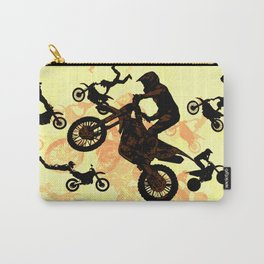 Extreme Motocross Stunts Carry-All Pouch