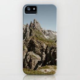 Seceda & The Marmot iPhone Case