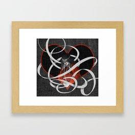 Hearts: Imani Framed Art Print