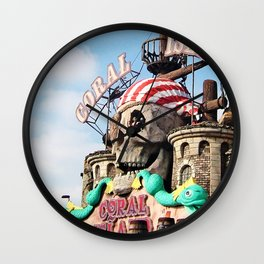 Coral Island Wall Clock