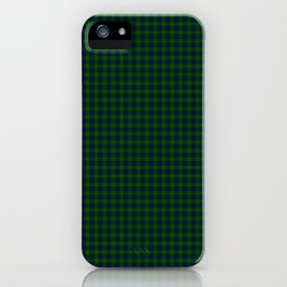 Lauder Tartan iPhone Case