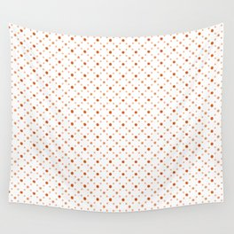 Criss Cross Dots Wall Tapestry