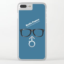 Austin Powers - Alternative Movie Poster Clear iPhone Case