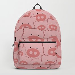 Pink Piggy Pigs Backpack