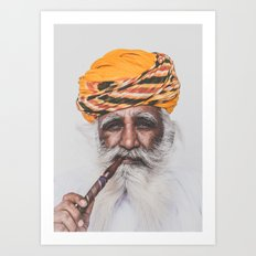 Jodhpur (colour) Art Print