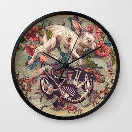 Dust Bunny Wall Clock