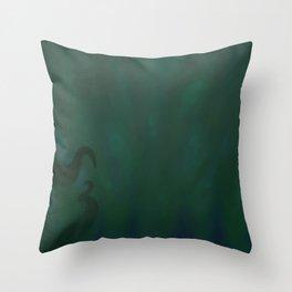 Drowning Throw Pillow