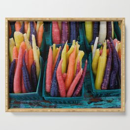 Colourful Carrots2 Serving Tray