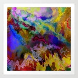 Time Bleeds Art Print