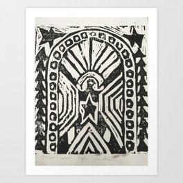 The Cosmic Doorway Art Print