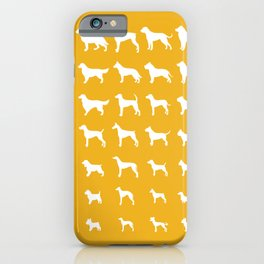 All Dogs (Gold) iPhone Case