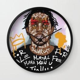 Kendrick Lamar Wall Clock