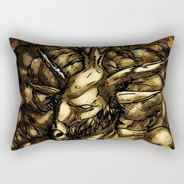 HORNED GOD Rectangular Pillow