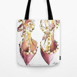 Valentino Rockstuds (Pink) Tote Bag