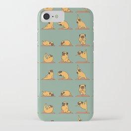 Pug Yoga iPhone Case