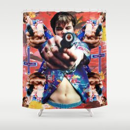 Romeo Kaleidoscope I Shower Curtain