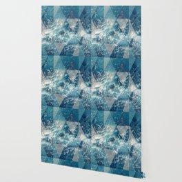 Geometric sea Wallpaper