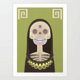 Vida Y Muerte Art Print