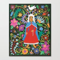The Blessed Mother Canvas Print