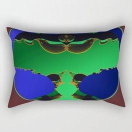 bad man Rectangular Pillow