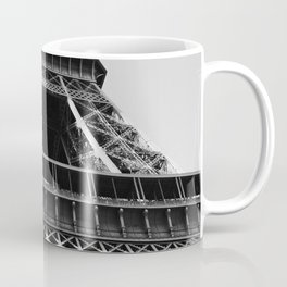 Eiffel Tower // Looking up at the World's Most Famous Monument in Paris France Classic Photograph Coffee Mug