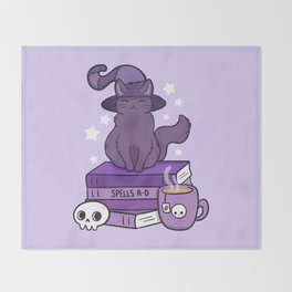 Feline Familiar 02 Throw Blanket