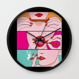 comics Wall Clock