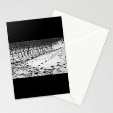 Snowy Vineyard Stationery Cards