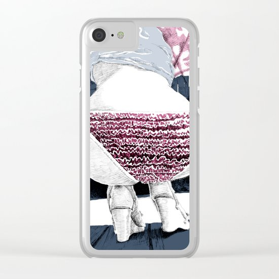 Frou-frou Clear iPhone Case