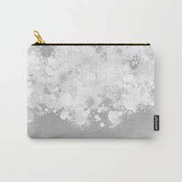 paint splatter on gradient pattern bwmbi Carry-All Pouch