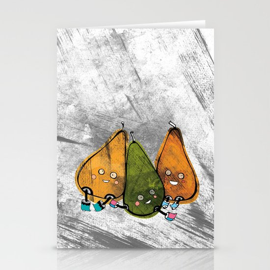 Drunken Pears Brothers Stationery Cards