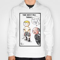 wwe Hoodies featuring WWE Chibi - Brock Lesnar and Paul Heyman by Furiarossa
