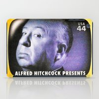 hitchcock iPad Cases featuring Alfred Hitchcock Presents by lanjee