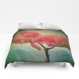 Vintage Spring Flowers Comforters