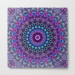 Mosaic Kaleidoscope 3 Metal Print
