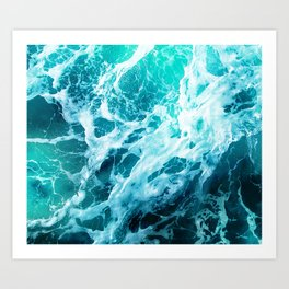 Out there in the Ocean Art Print