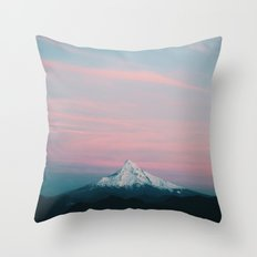 Mount Hood III Throw Pillow