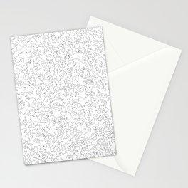 The salt sea Stationery Cards