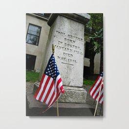 Paul Revere's Memorial Metal Print