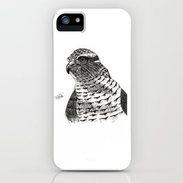 Azor. Goshawk iPhone Case