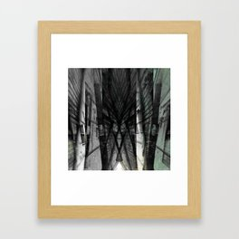 Incongruous like aspiring via acts of desperation. [B] Framed Art Print