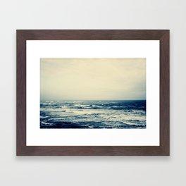 sea XIV Framed Art Print