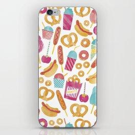 Carnival Food  iPhone Skin