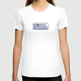 the Paper Cutter Blue T-shirt