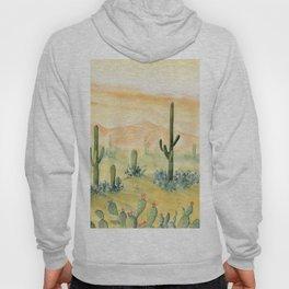 Desert Sunset Landscape Hoody