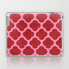 red and pink clover Laptop & iPad Skin