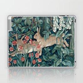 William Morris Forest Rabbits and Foxglove Laptop & iPad Skin