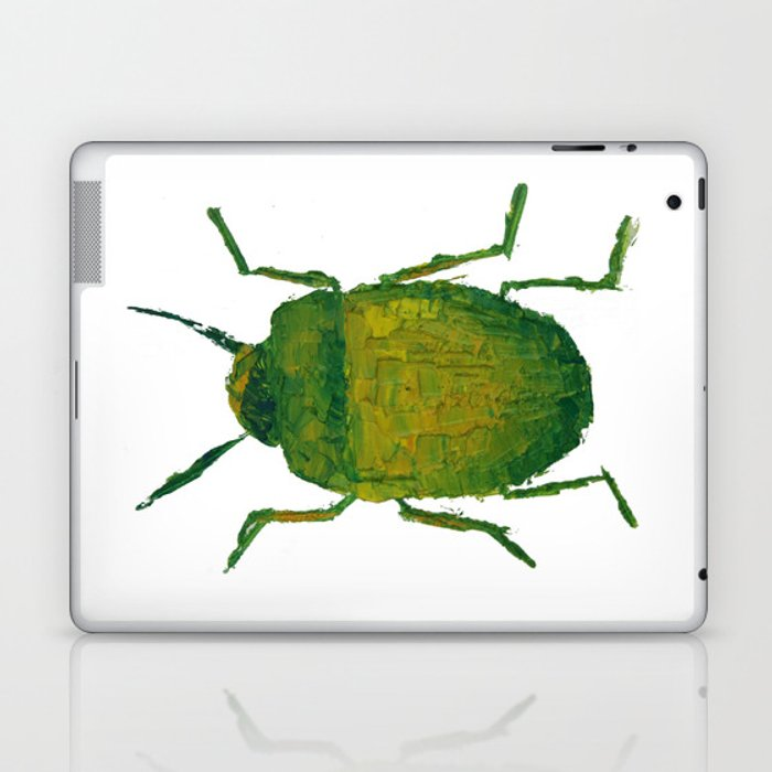 JUNG'S BEETLE Laptop & iPad Skin