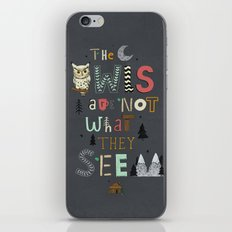 Not What They Seem iPhone & iPod Skin